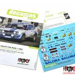1 24 Fiat 131 Abarth Fiat Rally Asa 1000 Lakes Finland Rally 1980 Decals Dcl Dec027 Decalcas