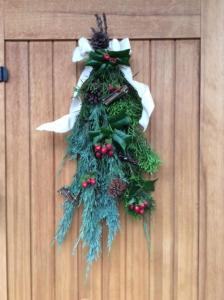 クリスマススワッグ1