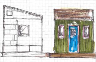 58houseの小屋