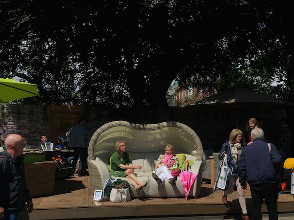 チェルシーフラワーショー2015の庭|ショーガーデン
