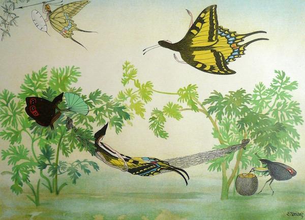 庭の生き物たち〜クライドルフの絵本