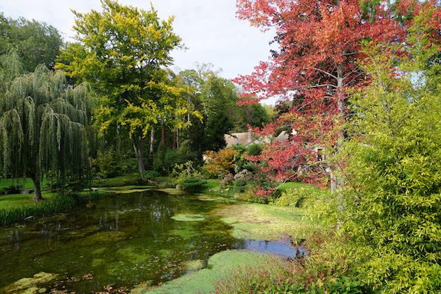 フランスの美しい水の庭、クーランス城の庭園 [その4]