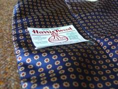 Harris Tweed and Macclesfield Silk