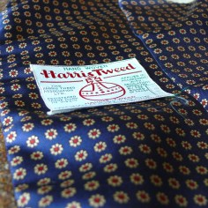 Harris Tweed and Macclesfield Silk