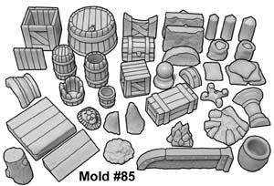 #85 Cavern Accessory Mold