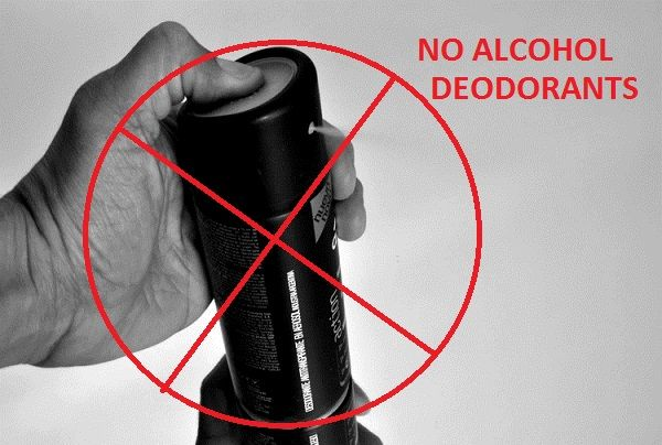 Say No To Alcohol Based Products