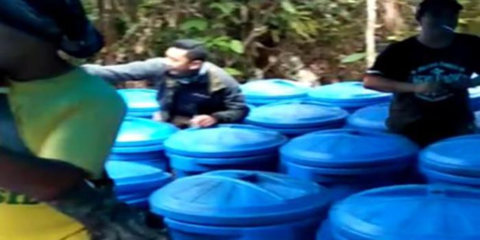Satpol PP dan TNI Gerebek Pabrik Miras di Hutan, Dalam 24 Jam Temukan 4 Pabrik