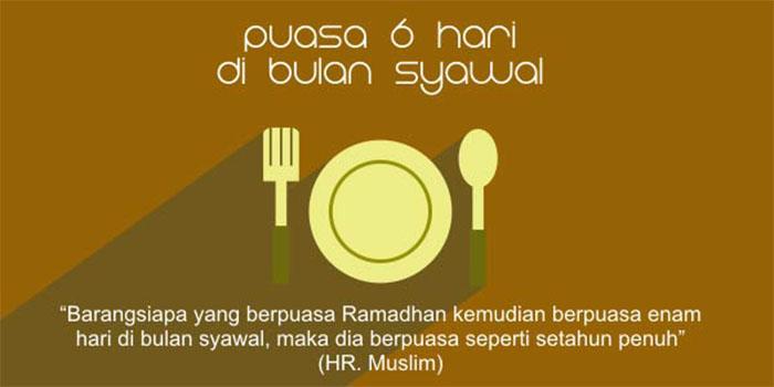 Hukum Puasa Enam Hari di Bulan Syawwal