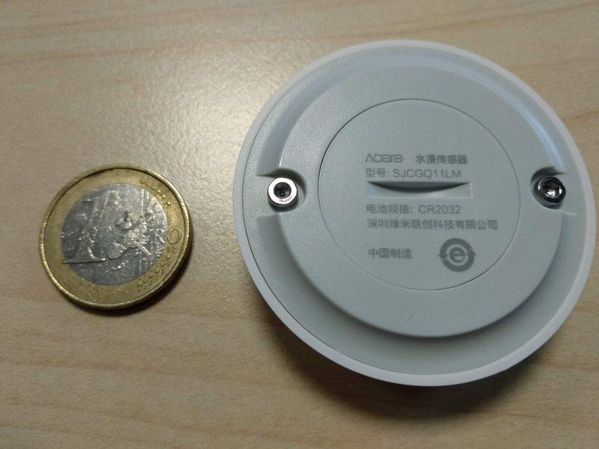 Aqara Water Leak Sensor Back