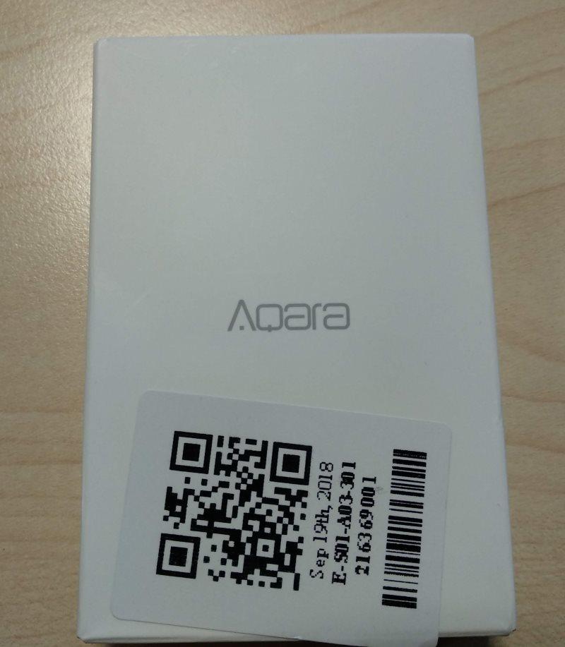 Aqara Water Leak Sensor Package