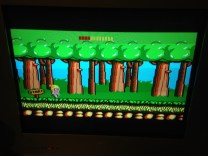 Wonder Boy running in 50Hz