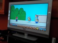 Fighting the Hammer Bros. Paper-Mario-Style