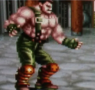 Final Fight 2 - Haggar Closeup - RGB