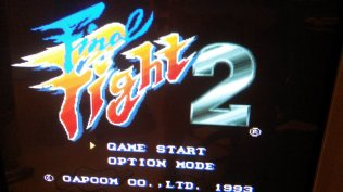 Final Fight 2 - Title Screen - RGB
