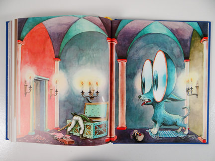 The Tinderbox illustration from TASCHEN's Hans Christian Andersen Fairy Tales