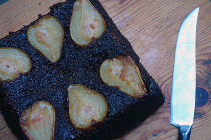 Cakes & Bakes: Pear and ginger cake
