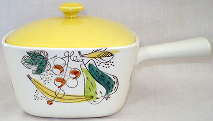 small vintage Rorstrand Granada lidded dish for sale by Teesside Hospice Care Foundation on eBay for Charity