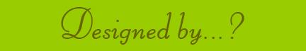 'Designed by' blog post banner