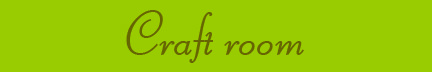 'Craft room' blog post banner