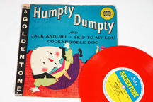vintage 1970s childs 45rpm Humpty Dumpty record