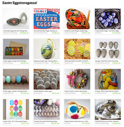 'Easter Eggstravaganza!' Etsy List from H is for Home