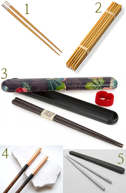 Selection of chopsticks
