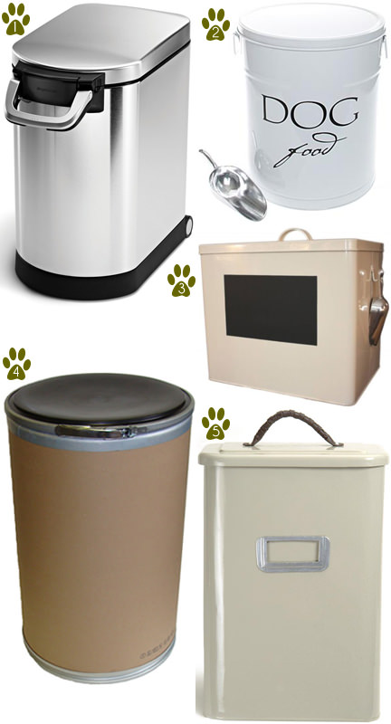 Dog Food Container Ideas