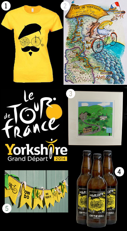 Gimme Five! Tour de Yorkshire souvenirs