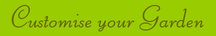 """Customise your Garden"" blog post banner"