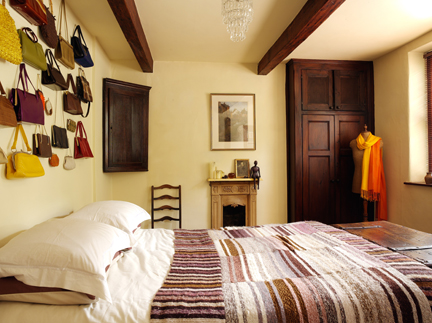 H is for Home's master bedroom