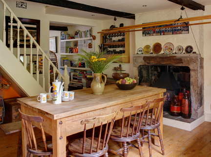H is for Home's kitchen-diner