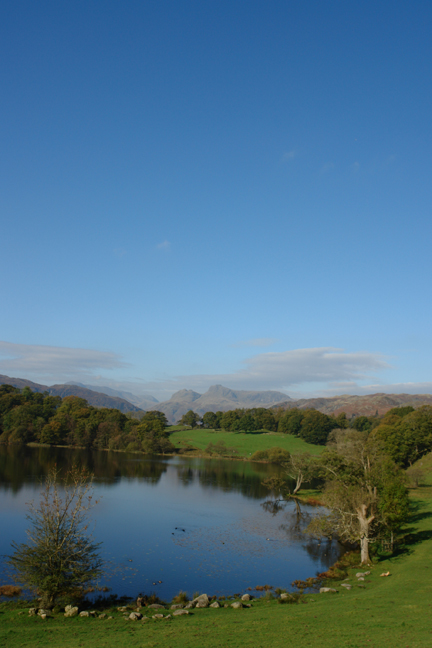 Loughrigg Tarn, Langdale, Lake District, Cumbria