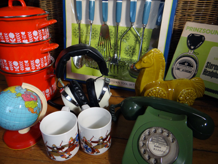 selection of recently acquired vintage homewares