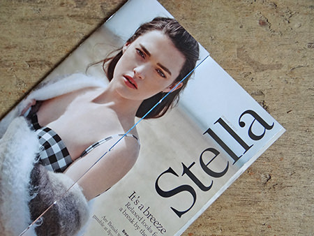Cover of Stella Magazine from 29 March 2015