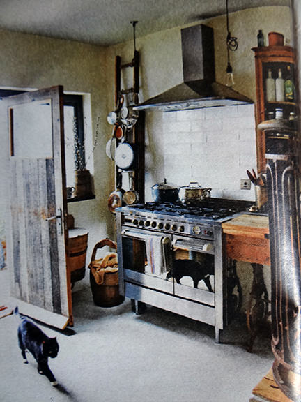 range cooker in an interior decoration article in the Telegraph Magazine