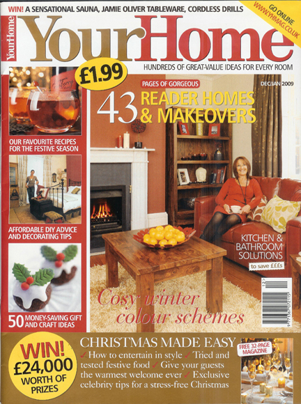 January 2010 Your Home Magazine cover