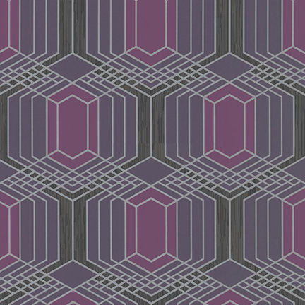 purple geometric patterned wallpaper