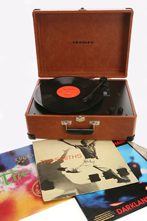 Crosley turntable available from Urban Outfitters