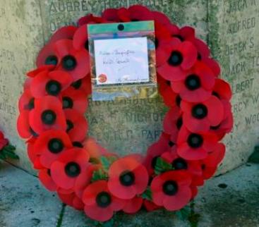 H&I Parish Council wreath