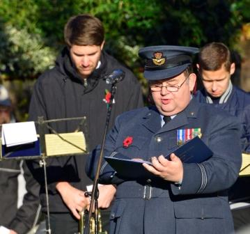 reading the roll of honour