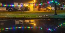 Christmas Lights on The Green