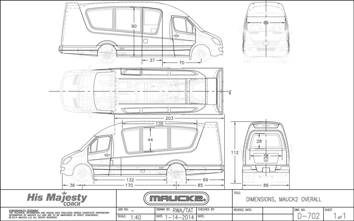 Luxury Sprinter Van Dimensions