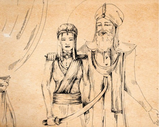 Razia Sultana The first woman Sultanate of India, Zubaan