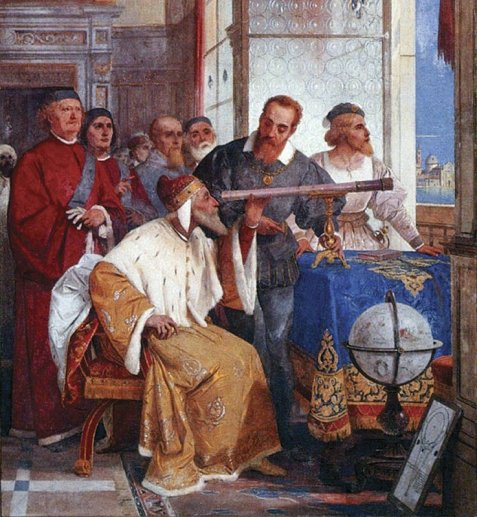 Galileo Galilei Astronomy Revolution From San Marco to the Moon Italian Youth Committee UNESCO