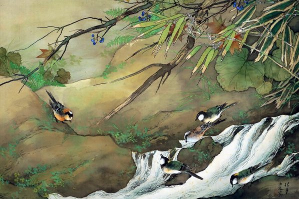 Japanese paintings of the four seasons, Adachi Museum of Art
