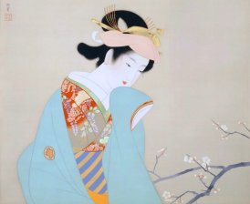 Ukiyoe's painting of beauty, Yamatane Museum of Art