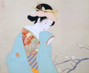 Ukiyoe's painting of beauty, Yamatane Museum of Art