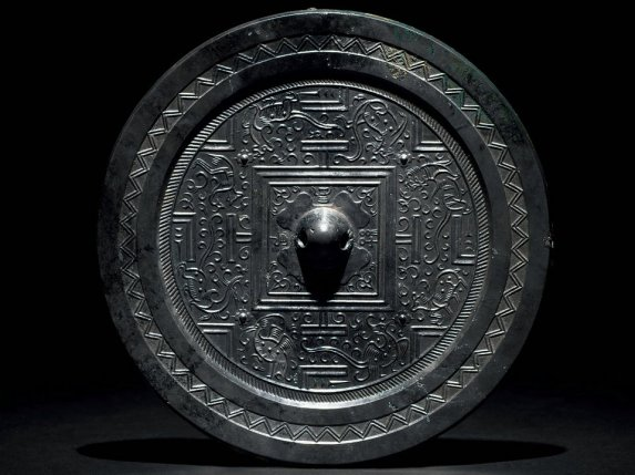 Han and Tang bronze mirror art exhibition, Yangzhou Museum