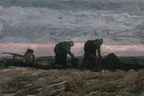 Van Gogh in 1880 - 1883, first steps as an Artist, Van Gogh Museum