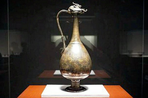 Horyu-ji Temple dedication treasure Buddhist instrument, Tokyo National Museum
